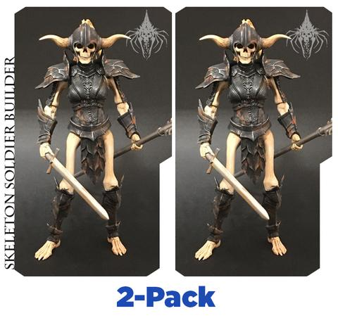 SKELETON SOLDIER BUILDER - [2-PACK] - Mythic Legions