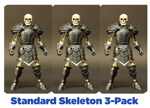 SKELETON LEGION BUILDER [3-PACK] - Mythic Legions