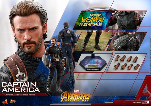 **PRE-ORDER** - CAPTAIN AMERICA - Avengers Infinity War - 1/6th Scale figure - Hot Toys
