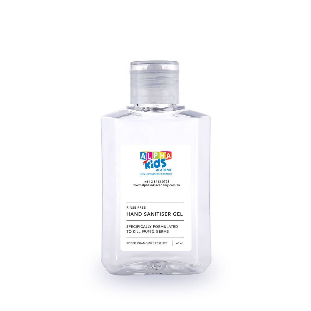CUSTOM LABEL - HAND SANITISER GEL