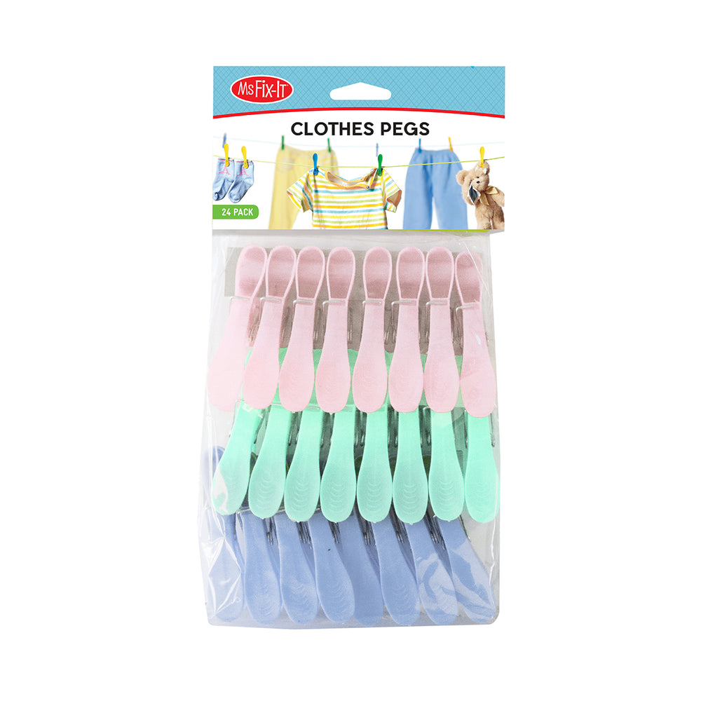 Clothes Pegs - 24 Pack
