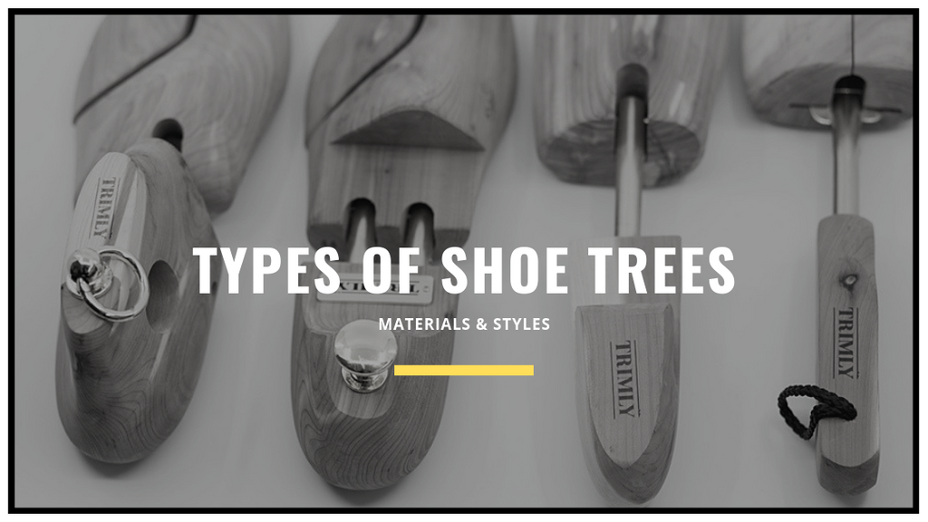 Types of shoe trees