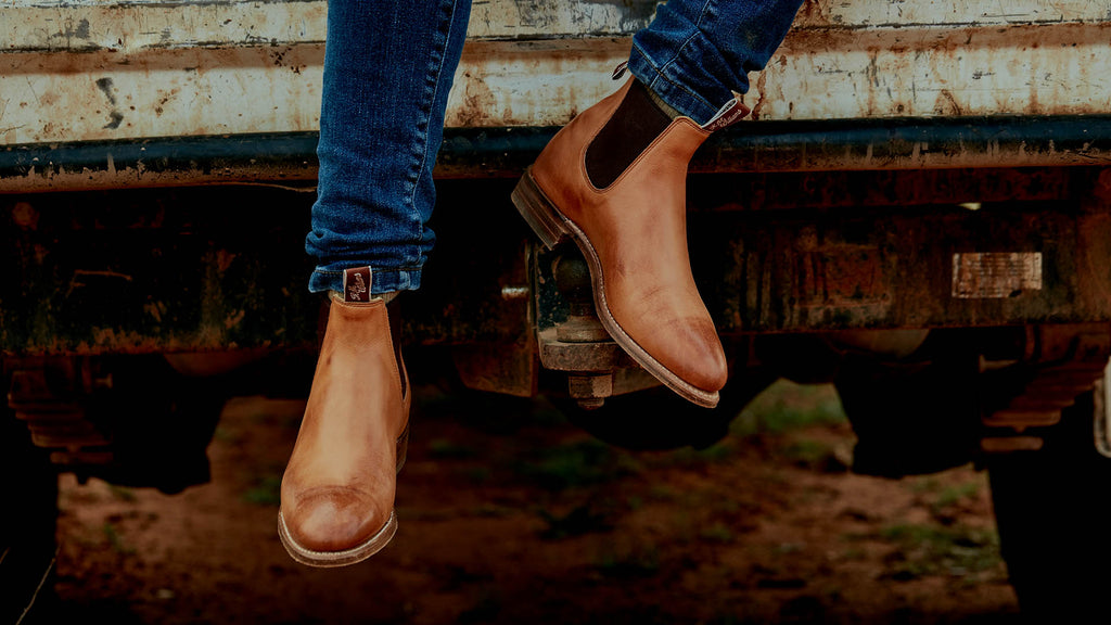 36797b09fe5dd Boots that have walked the earth but will always be Australian. photo@ R.M.  Williams.