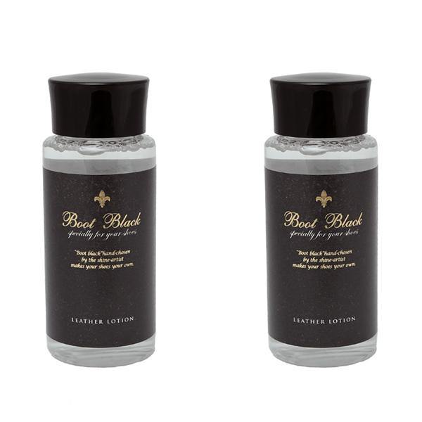 Boot Black Leather Lotion Cleaner Trimly