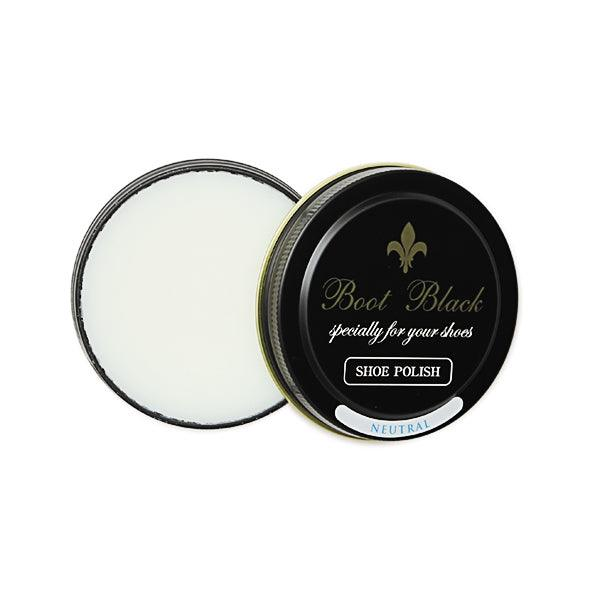 Boot Black Wax Polish - Neutral