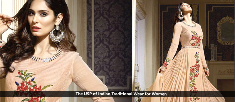 The USP of Indian Traditional Wear for Women