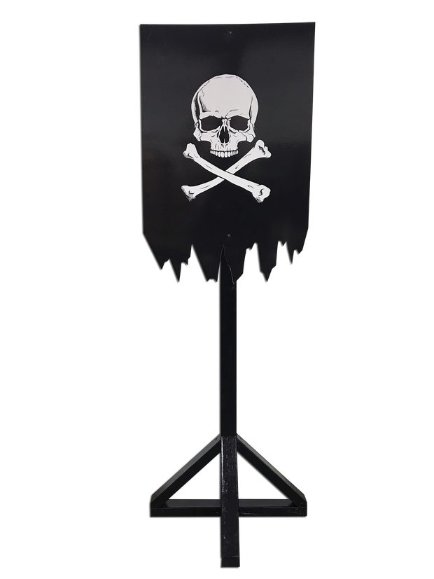 Pirate Flag Stand