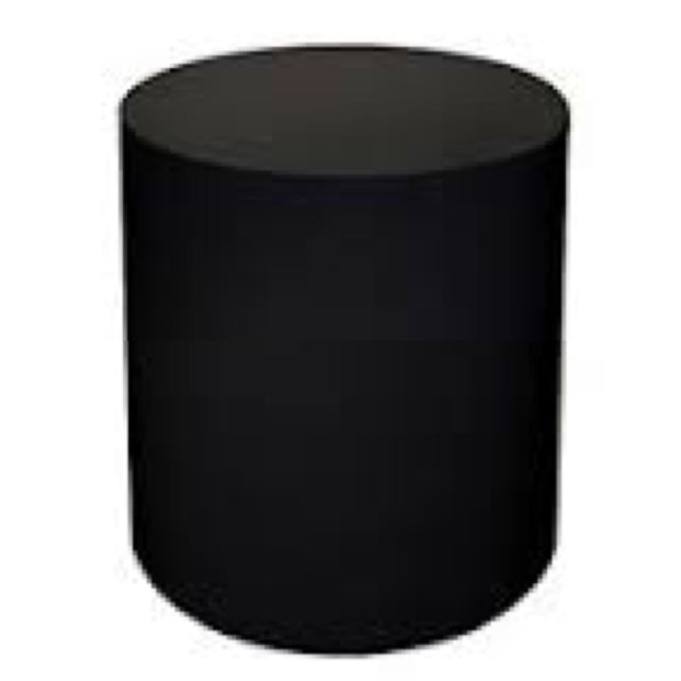 Black Cylinder Table (3 Feet)