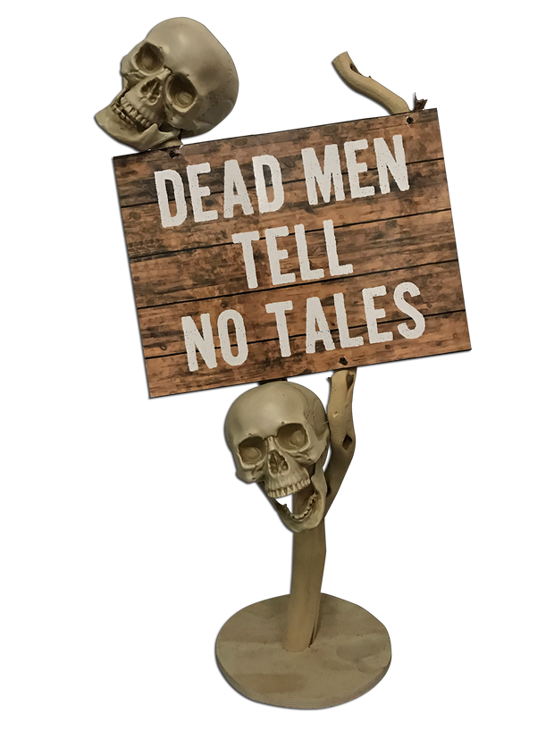 Dead Men Tell No Tales Stand