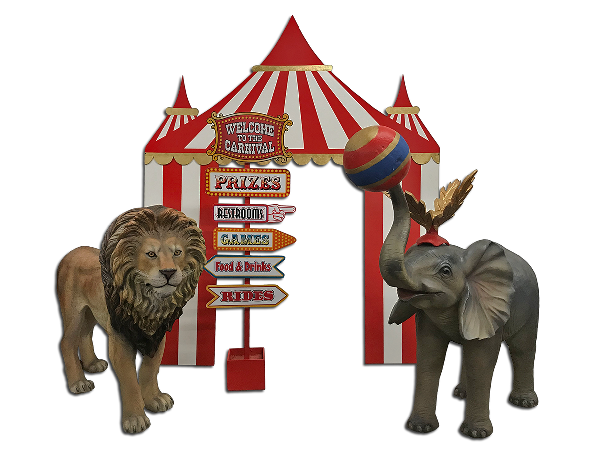 Red Circus /Carnival Package 2