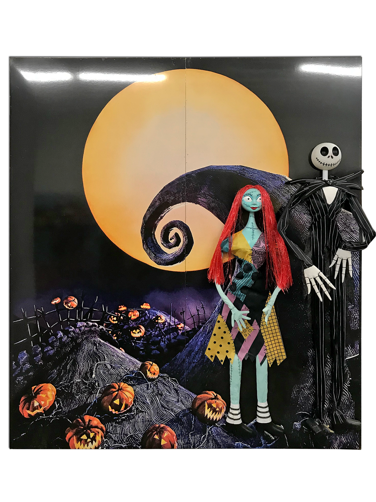 Nightmare Before Christmas Backdrop Panels