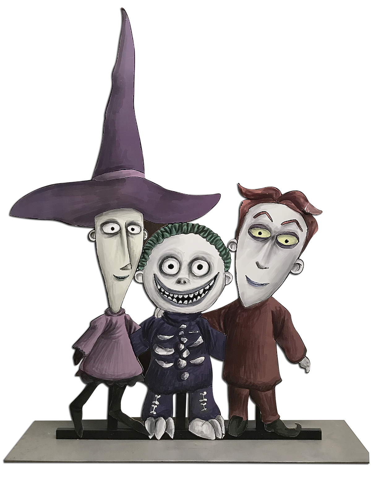 Nightmare Before Christmas Trick Or Treaters – Platinum Prop Rentals