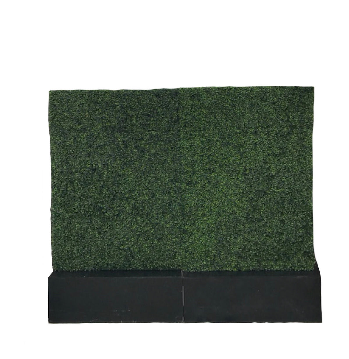 Hedge Wall With Black Base