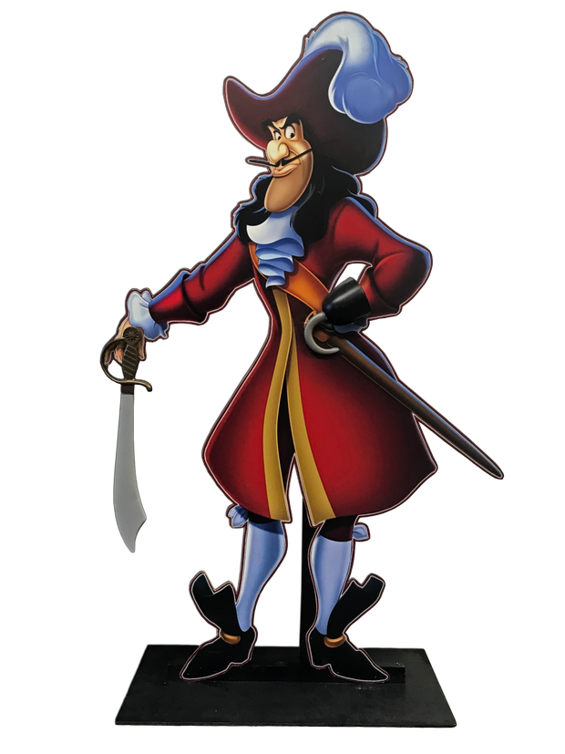 Captain Hook Standee
