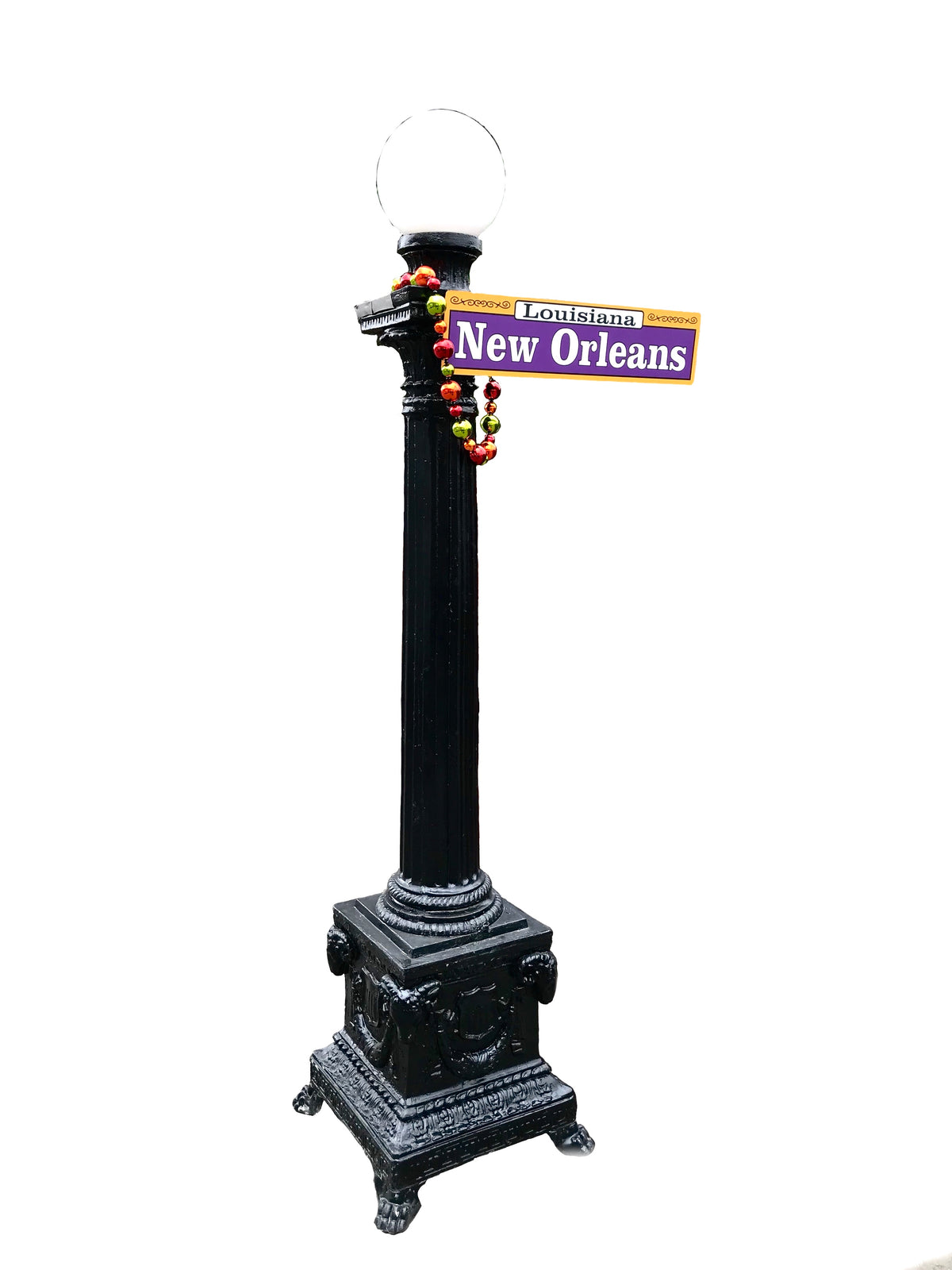 New Orleans Street Post