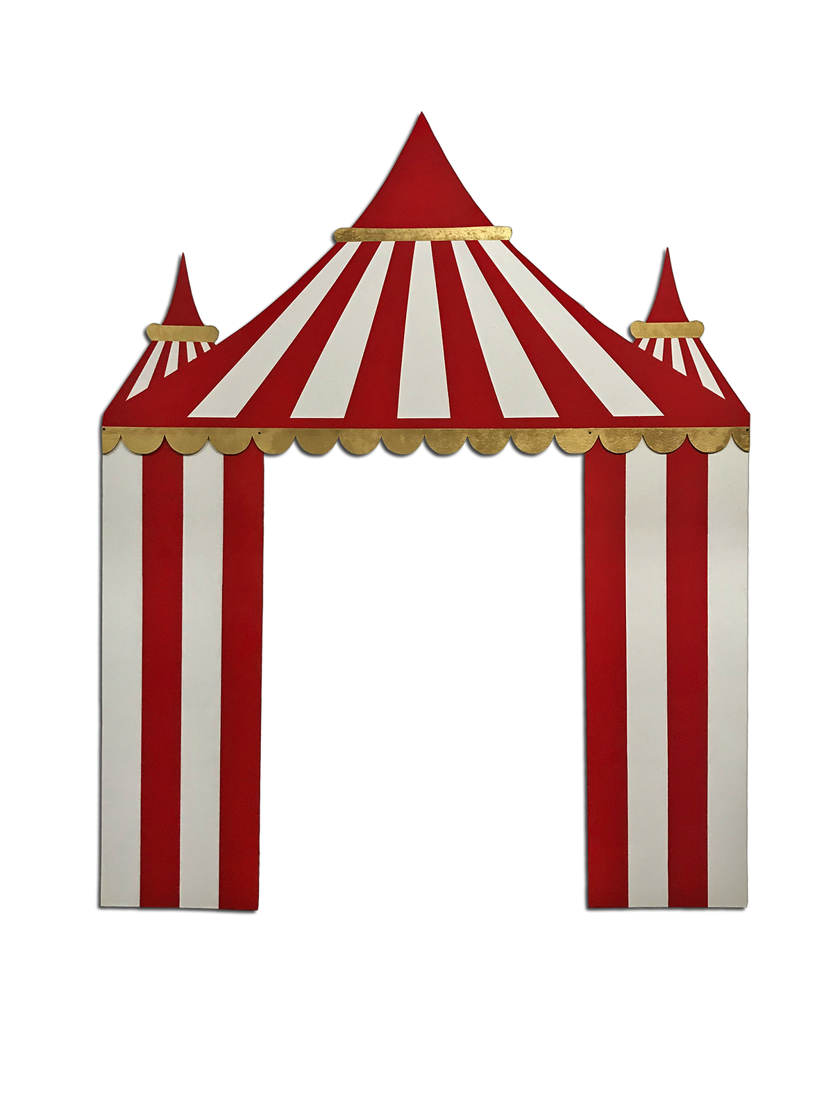 Red Circus / Carnival Tent Backdrop