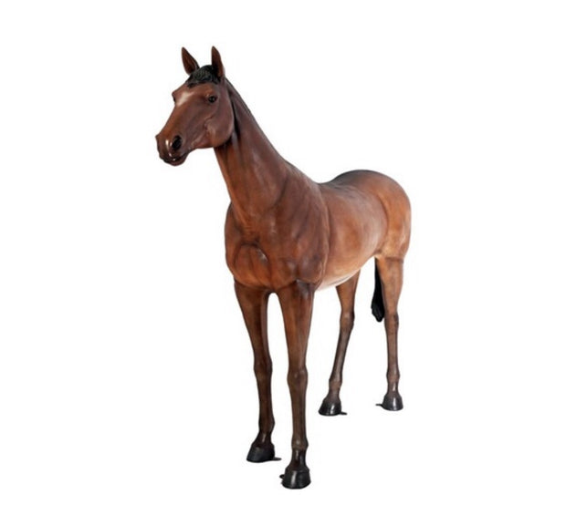 Large Brown Horse