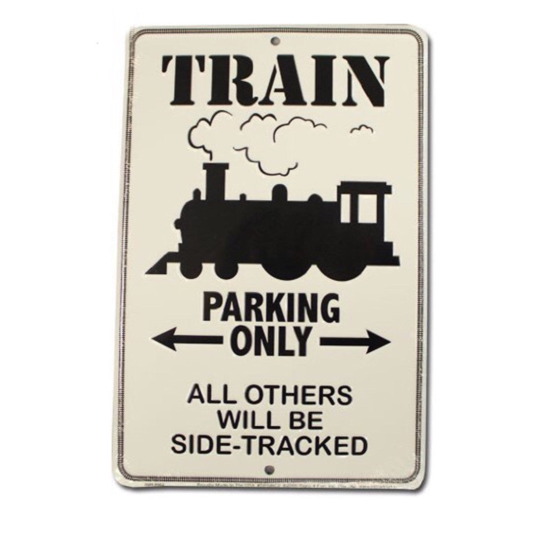 Train Parking Only Stand