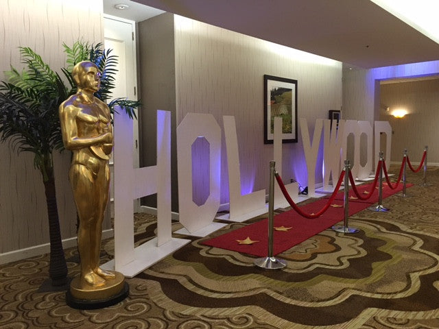 Hollywood Standee Letters