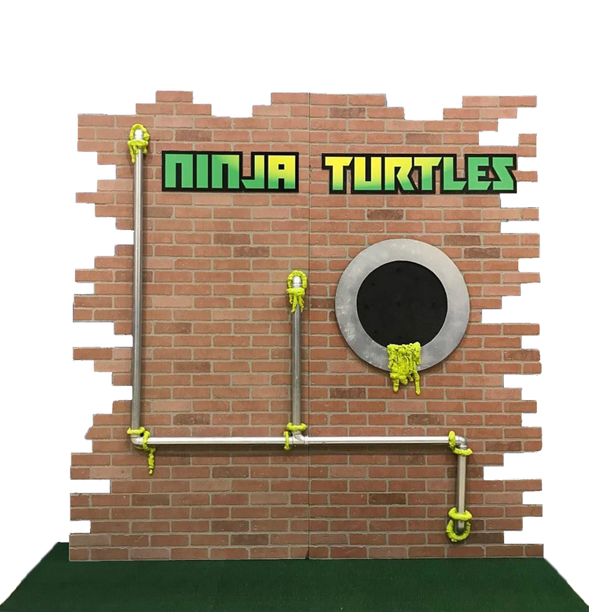 Ninja Turtles Backdrop Panels