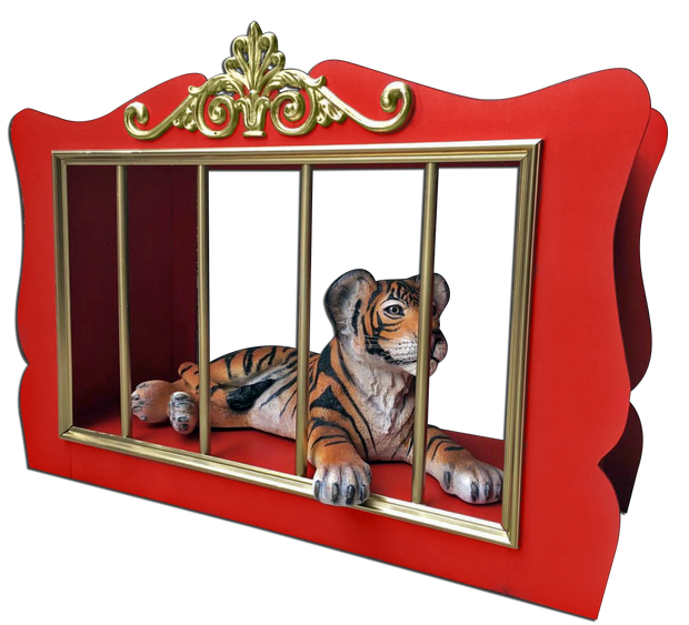 Red Tiger Cage
