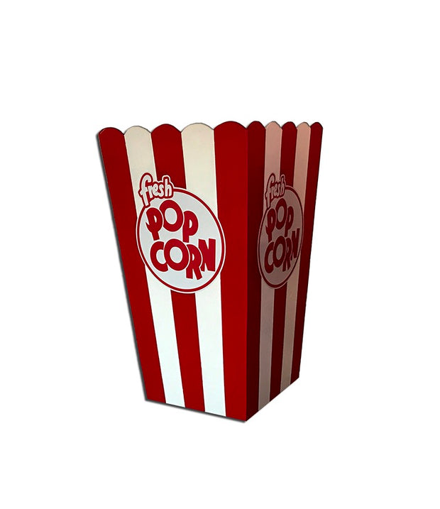 Giant Red Popcorn Box