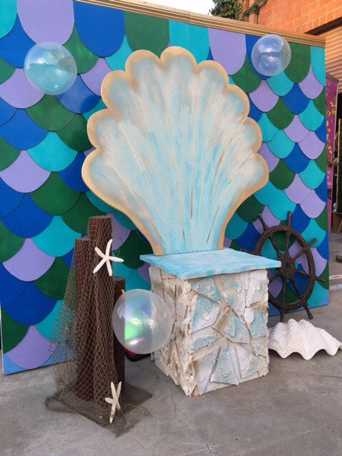 Giant Sea Shell Chair