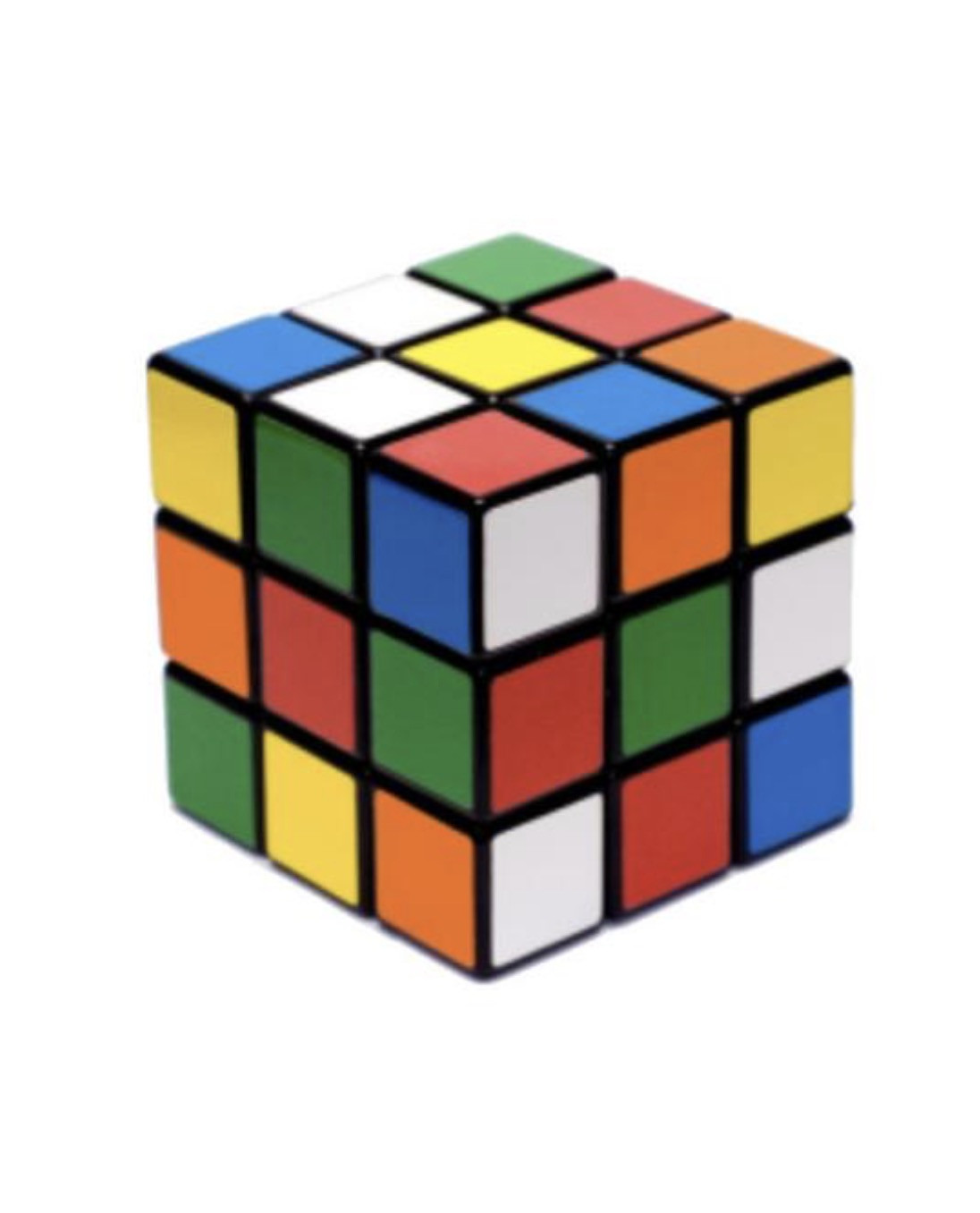 Mini Rubik's Cube Centerpiece (1 Foot)