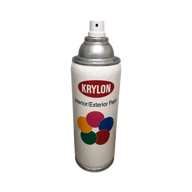 White Spray Paint Can