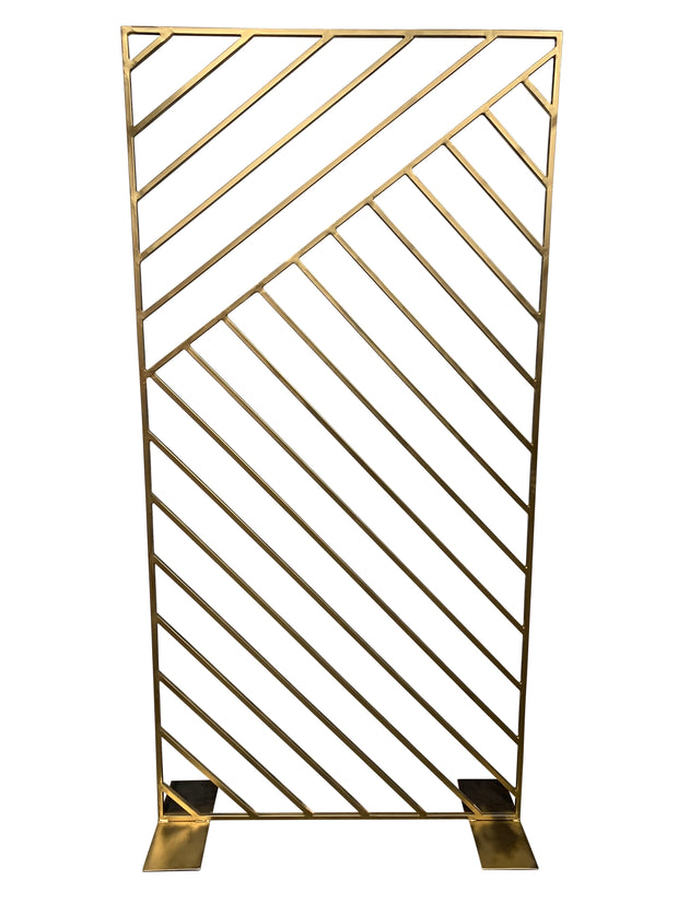 Rectangular Gold Screen