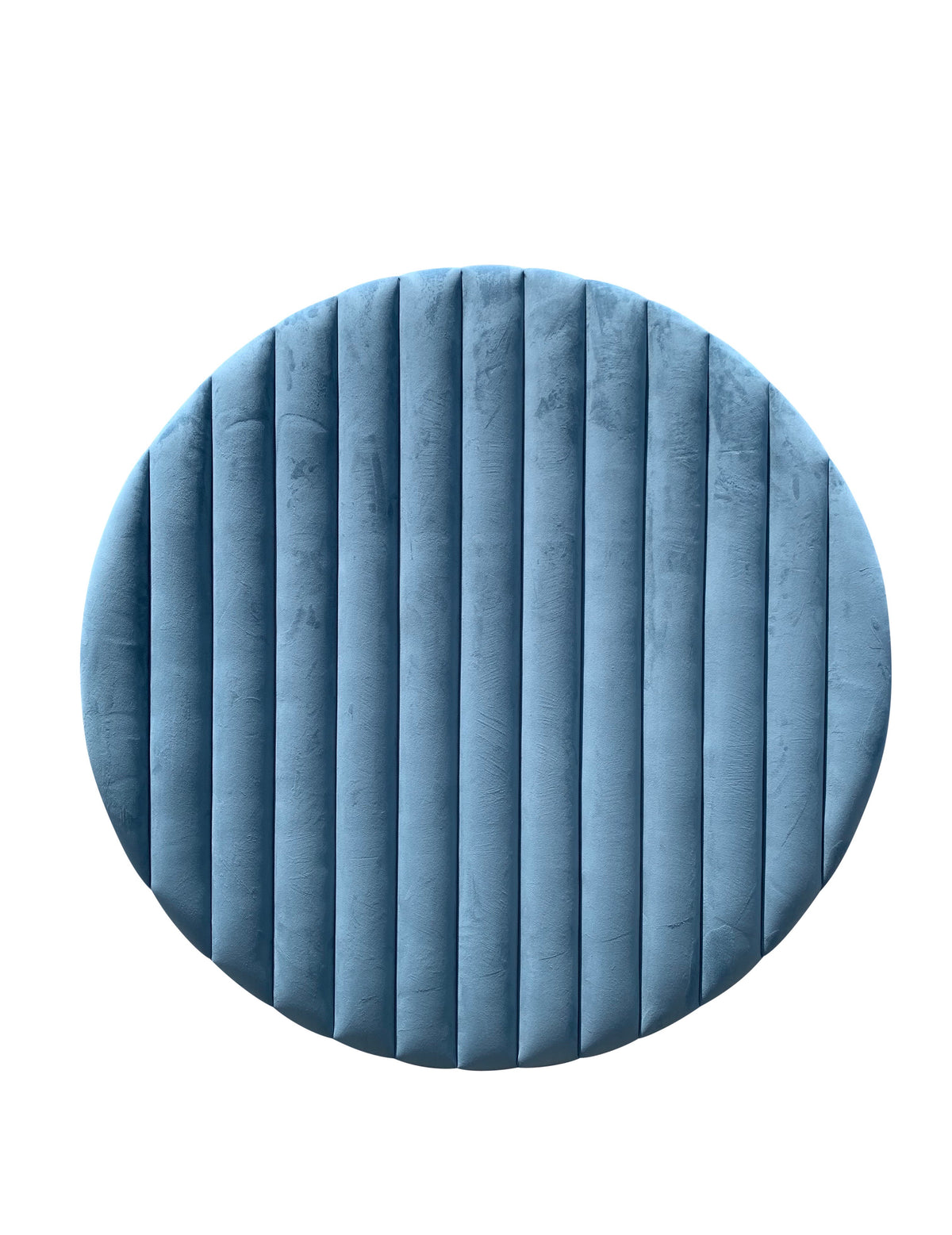 Blue Velvet Circle Backdrop