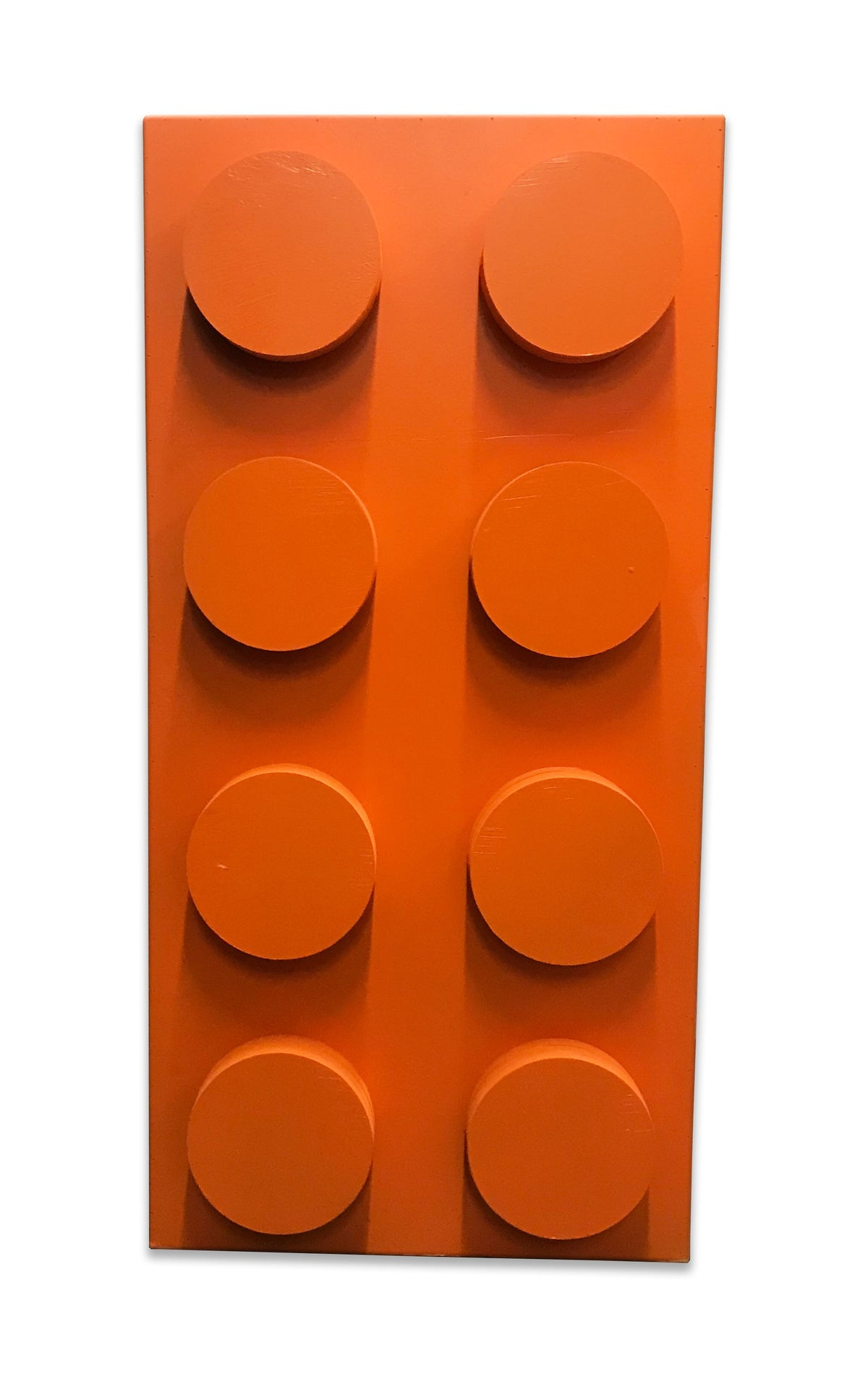 Orange Lego Brick