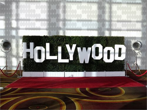 3D Hollywood Letters