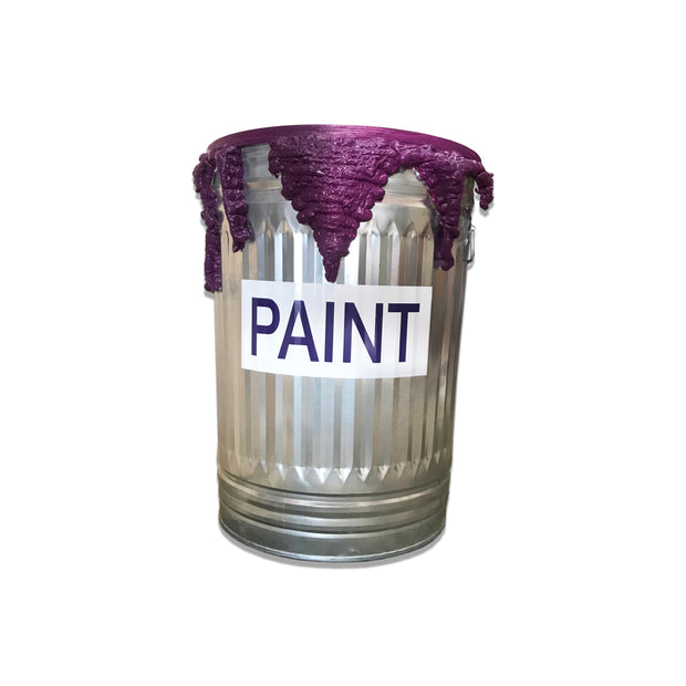 Purple Paint Can Table