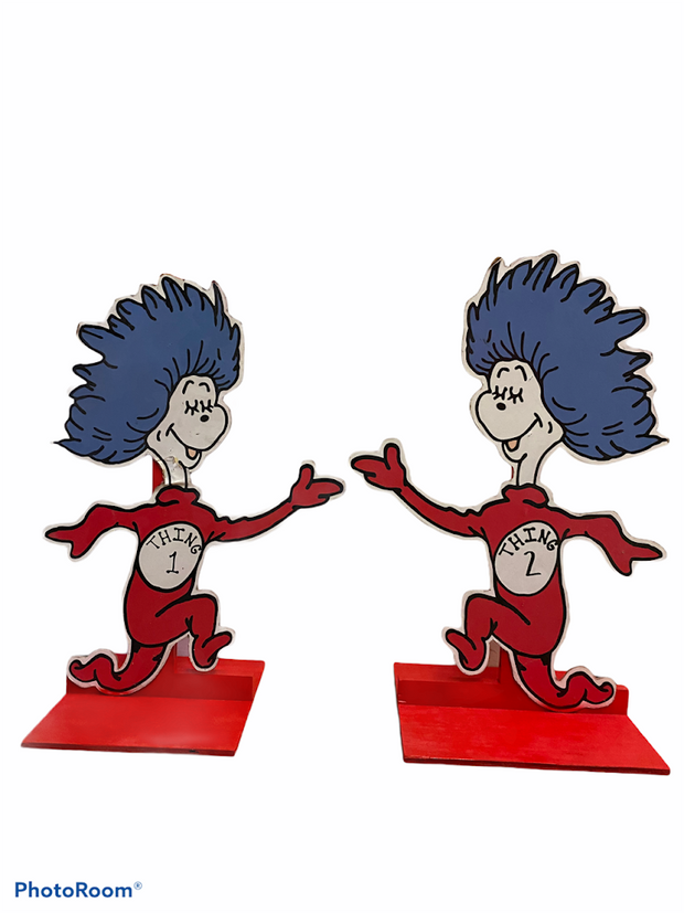 Thing 1 & Thing 2 Standee