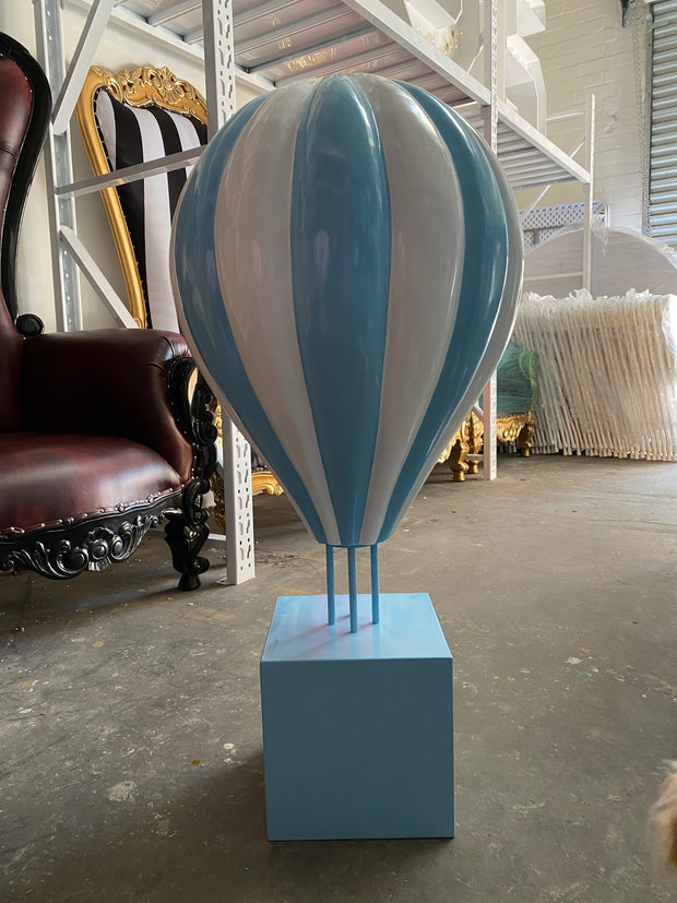 3 Foot Blue Hot Air Balloon