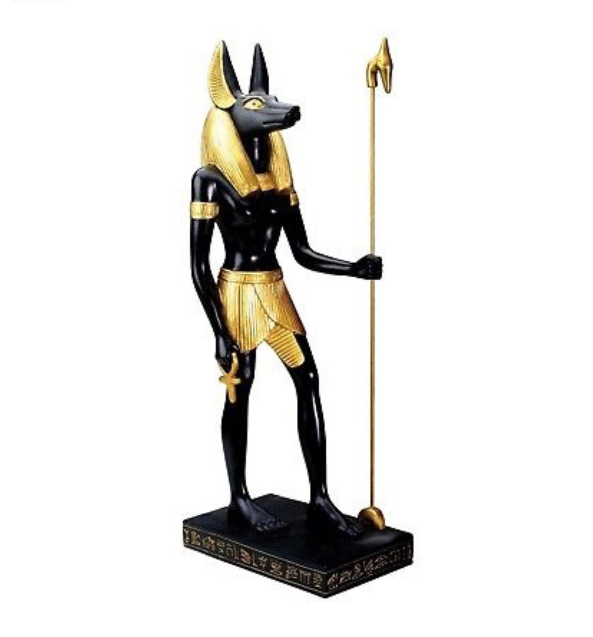Egyptian Anubis Pharaohs Centerpiece