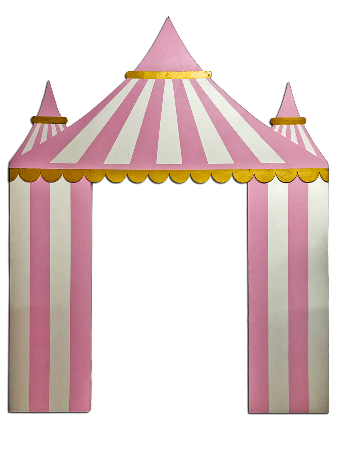Pink Circus / Carnival Tent Backdrop