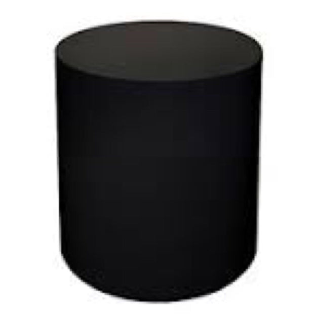 Black Cylinder Table (2 Feet)