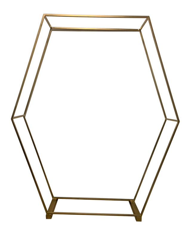Gold Hexagon Stand