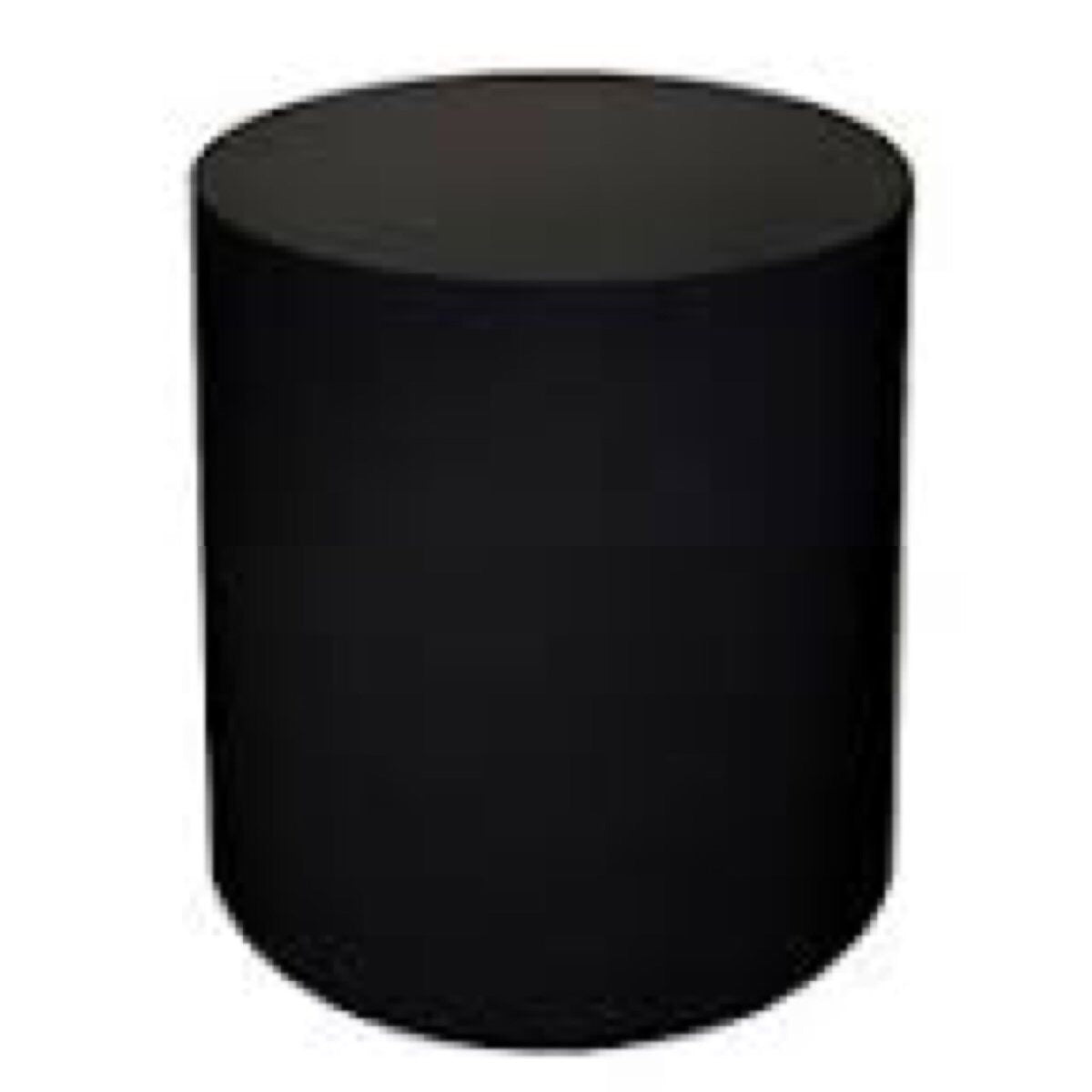 Black Cylinder Table (4 Feet Tall)