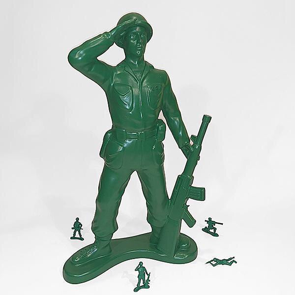 Army Man Center Piece
