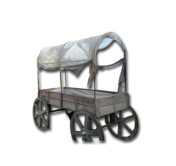 Covered Western Wagon