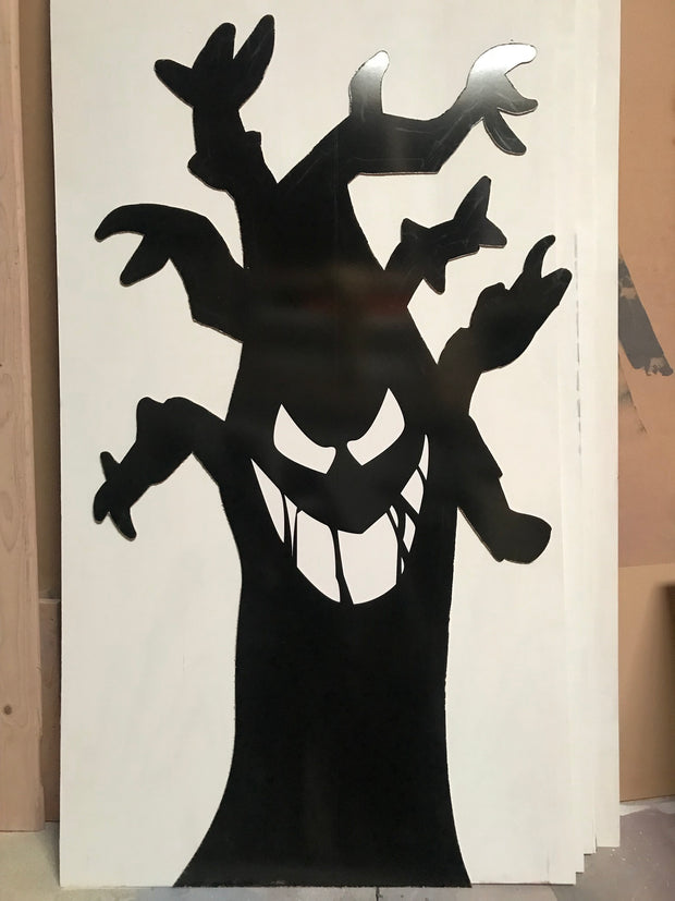 Black Tree Standee