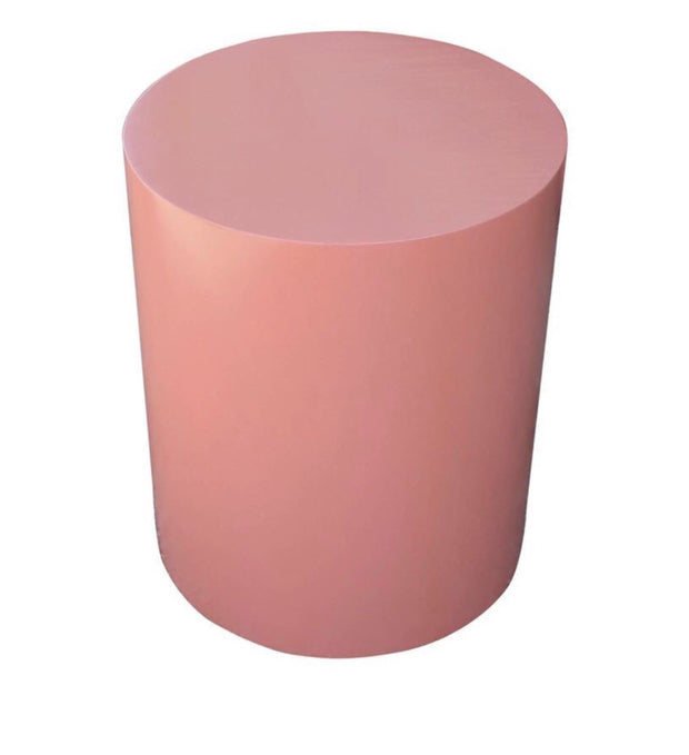 Pink Cylinder Table (4 Feet Tall)