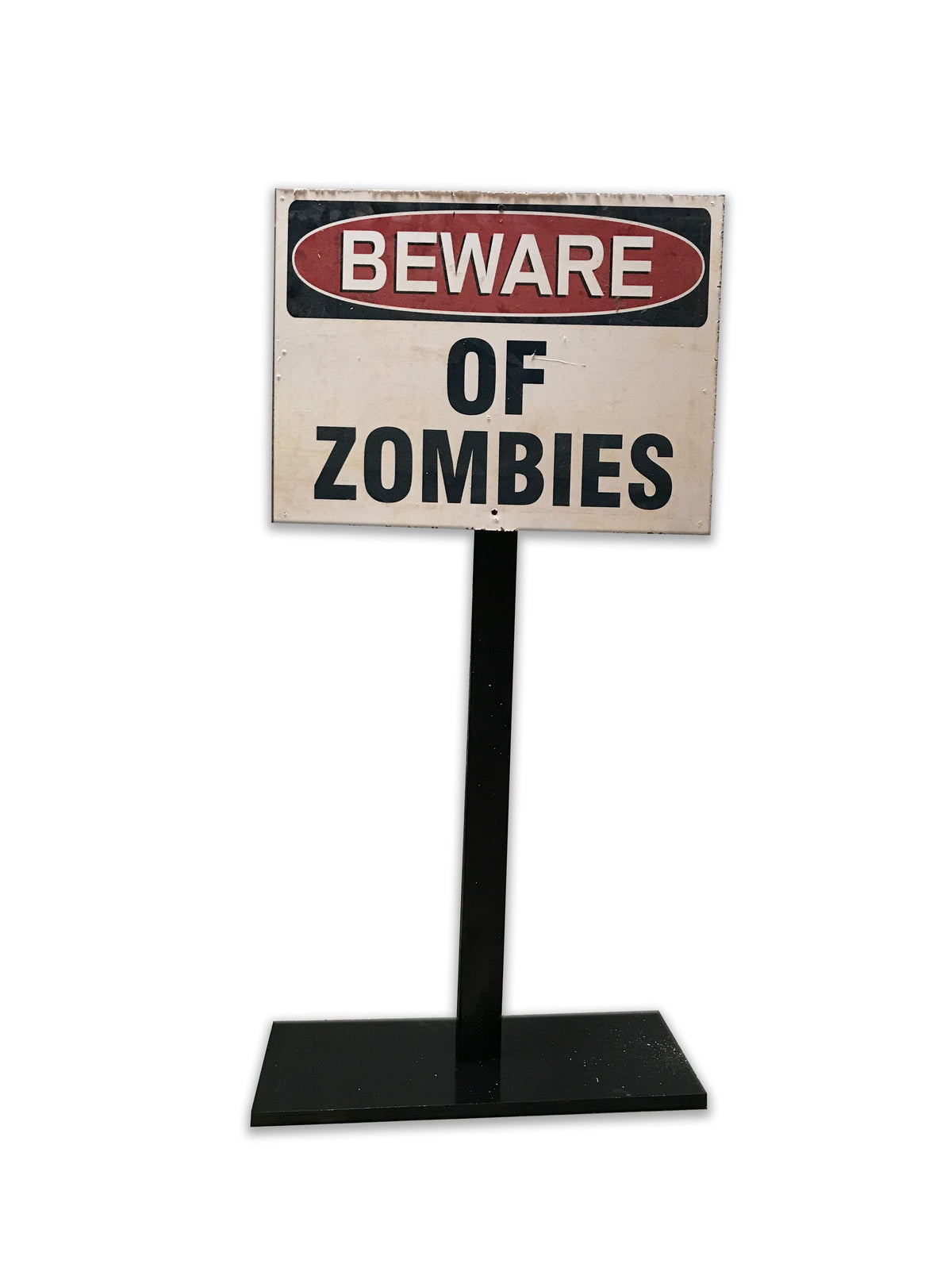 Beware Of Zombies Stand