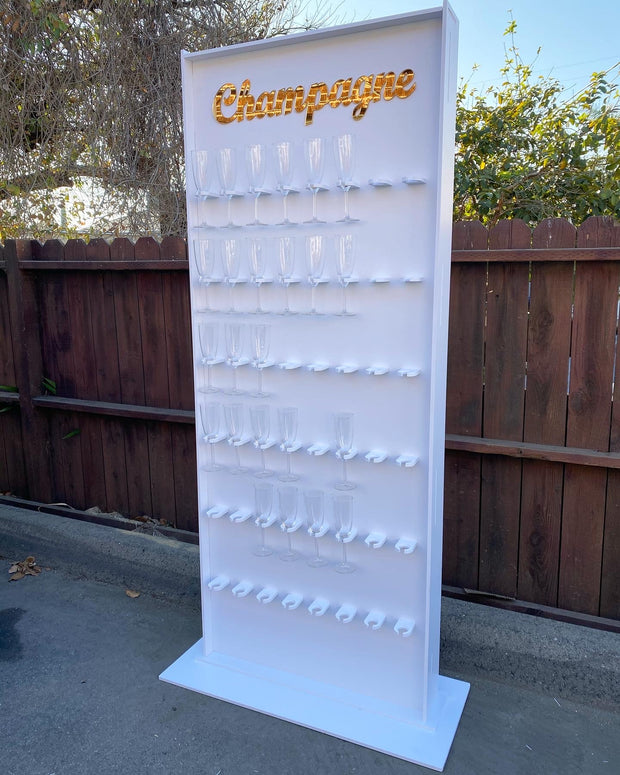 White Champagne Wall