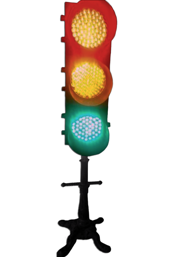 Floor Standing Stop Light