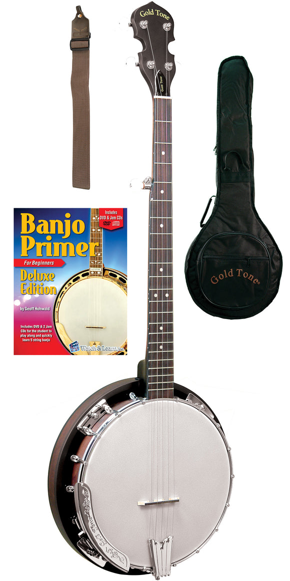 CC-BG: Cripple Creek Banjo Bluegrass Starter Pack