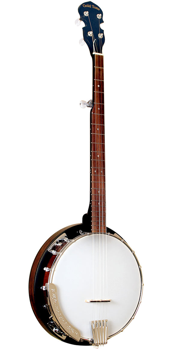 CC-50RP: Cripple Creek Resonator Banjo with Planetary Tuners and Gig Bag